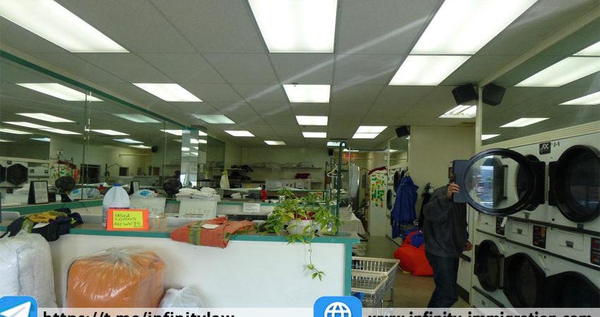 خرید بیزنس خشکشویی در کانادا